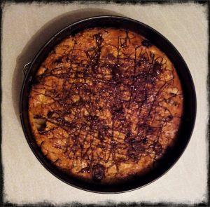 torta vegana pere mele e cioccolato