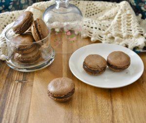 macarons al cacao