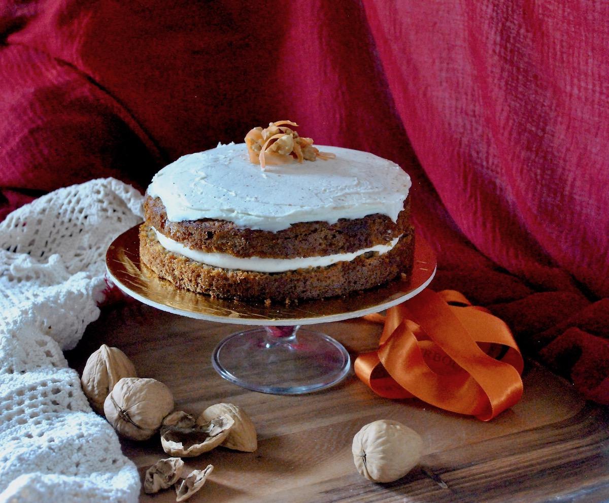 carrot cake inglese