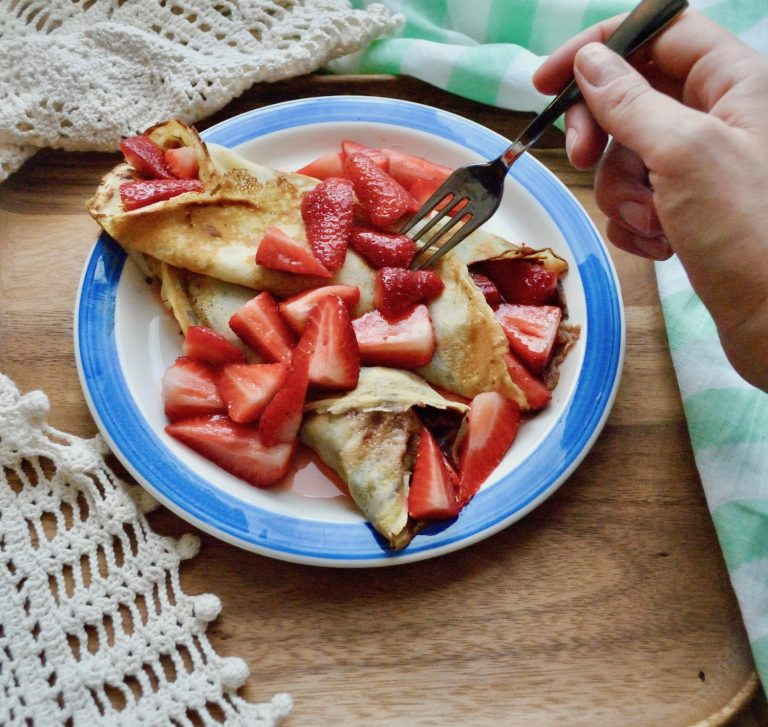 Le crepes ricetta in francese