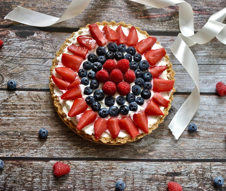 cheesecake mascaropone e frutti di bosco