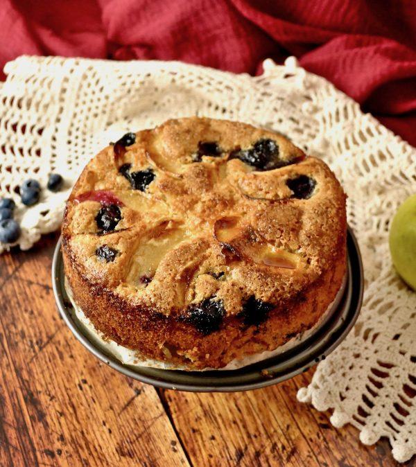 torta mele senza burro