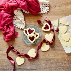 biscotti ripieni per San Valentino