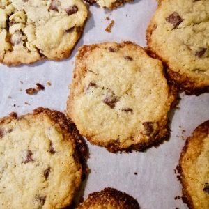 ricetta cookies gocce di cioccolato